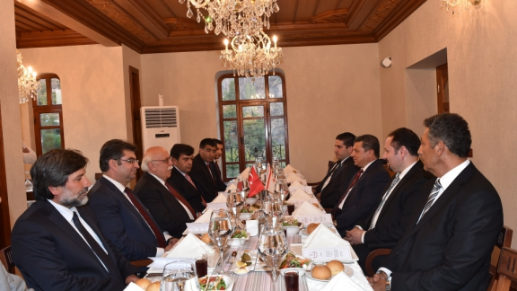 Minister Avcı and TRNC Education Minister Dürüst meet in Ankara